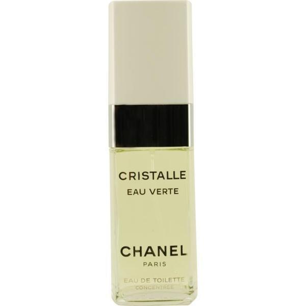 chanel 39 cristalle eau verte 39 women 39 s 3 4 oz eau de. Black Bedroom Furniture Sets. Home Design Ideas
