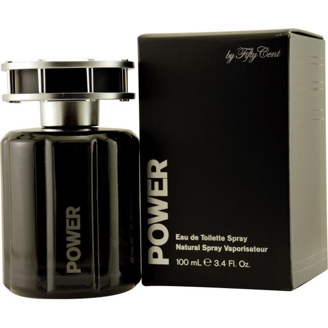 50 Cent Power Men's 3.4-ounce Eau de Toilette Spray