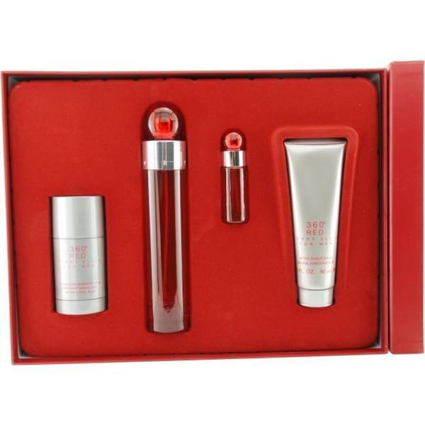 Perry Ellis 360 Red Men's 4-piece Fragrance Set