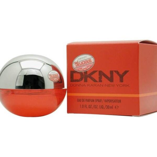 dkny red delicious women 39 s 1 ounce eau de parfum spray. Black Bedroom Furniture Sets. Home Design Ideas