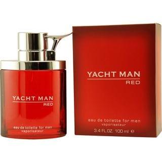 Myrurgia Yacht Man Red Men's 3.4-ounce Eau de Toilette Spray