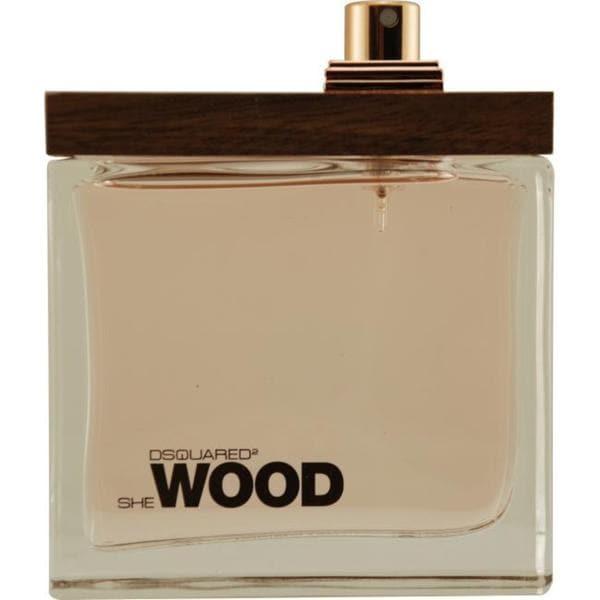 Dsquared2 She Wood Women's 3.4-ounce Eau de Parfum (Tester) Spray