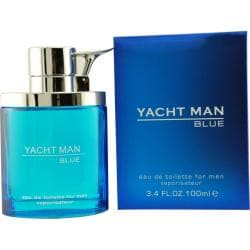 Myrurgia 'Yacht Man Blue' Men's 3.4-ounce Eau de Toilette Spray