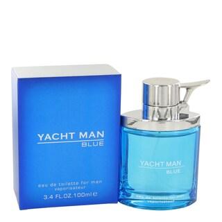 Myrurgia Yacht Man Blue Men's 3.4-ounce Eau de Toilette Spray