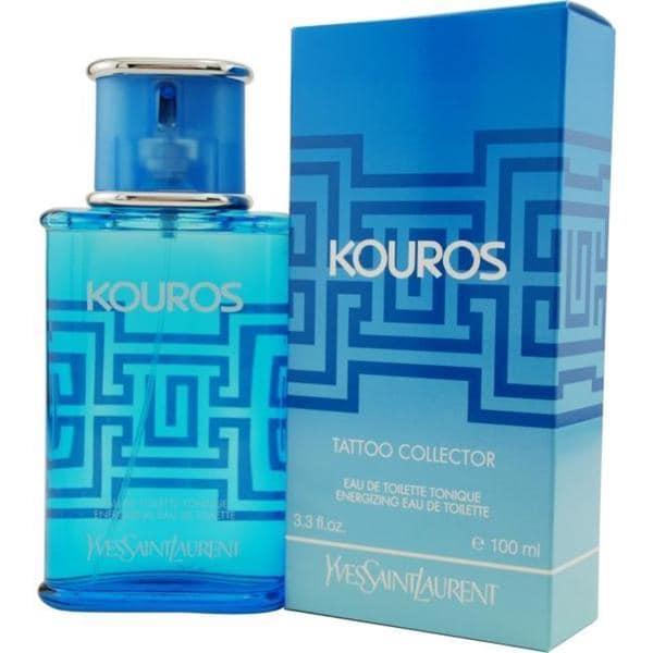 Yves Saint Laurent 'Kouros' Men's 3.3-ounce Tatoo Collector Energizing Eau de Toilette Spray With Two K