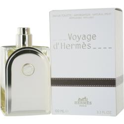 Hermes 'Voyage D'hermes' Mens/Unisex 3.3-ounce Eau de Toilette Refillable Spray