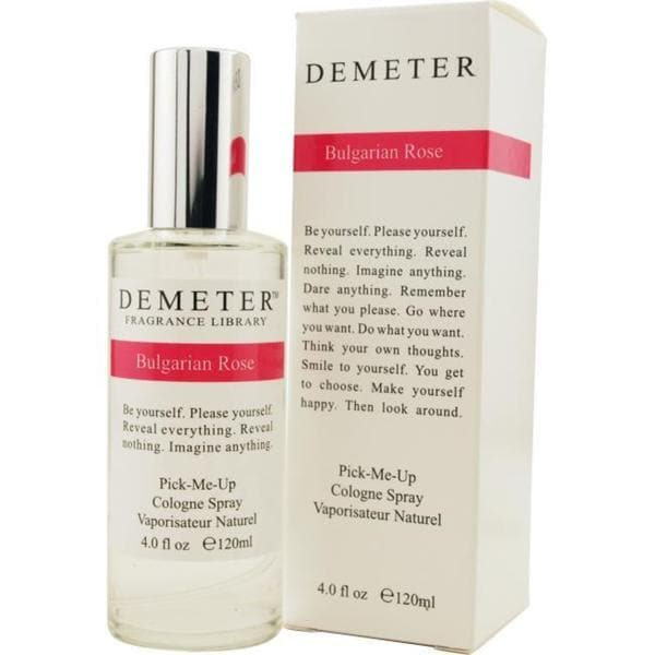 Demeter Bulgarian Rose Women's 4-ounce Cologne Spray