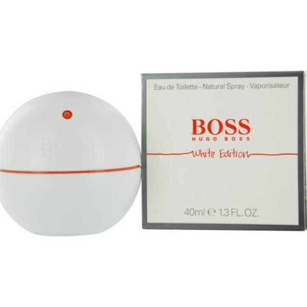 Hugo Boss In Motion White Men's 1.3-ounce Eau de Toilette Spray