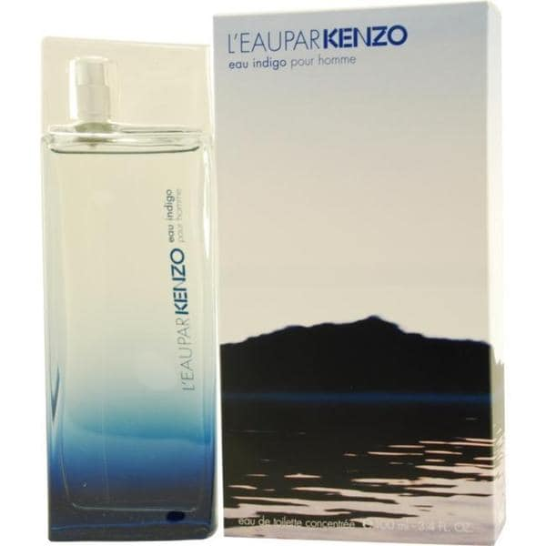 Kenzo Leau Par Kenzo Eau Indigo Men's 3.4-ounce Eau de Toilette Concentree Spray