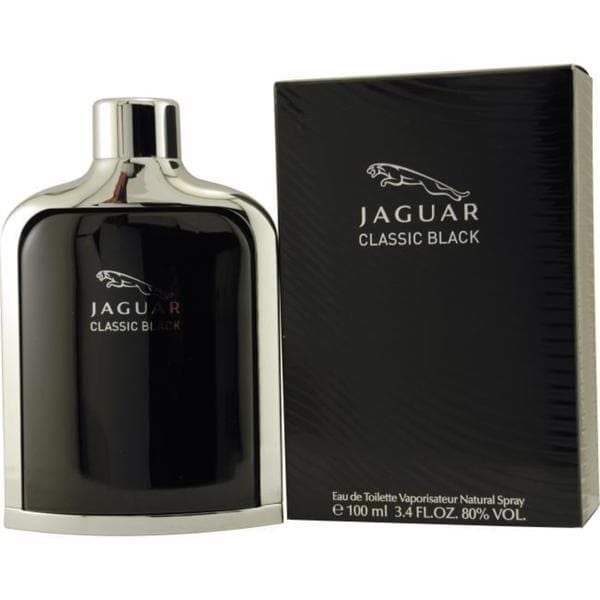 Jaguar Classic Black Men's 3.4-ounce Eau de Toilette Spray