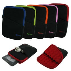 rooCASE iPad Mini/ Kindle Fire HD 7/ Nexus 7 2013 Super Bubble Neoprene Sleeve Case