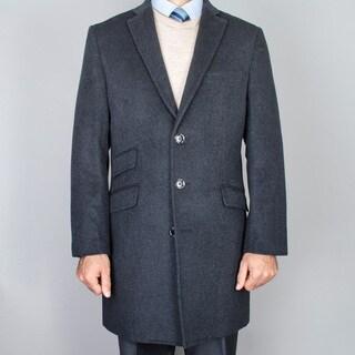 Men's Charcoal WoolCarcoat