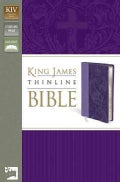 Holy Bible: King James Version Lavender Italian Duo-Tone Thinline (Paperback)