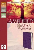 The Holy Bible: Amplified Bible, Purple Italian Duo-Tone, Small Print (Paperback)
