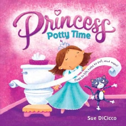 Princess Potty Time (Board book)