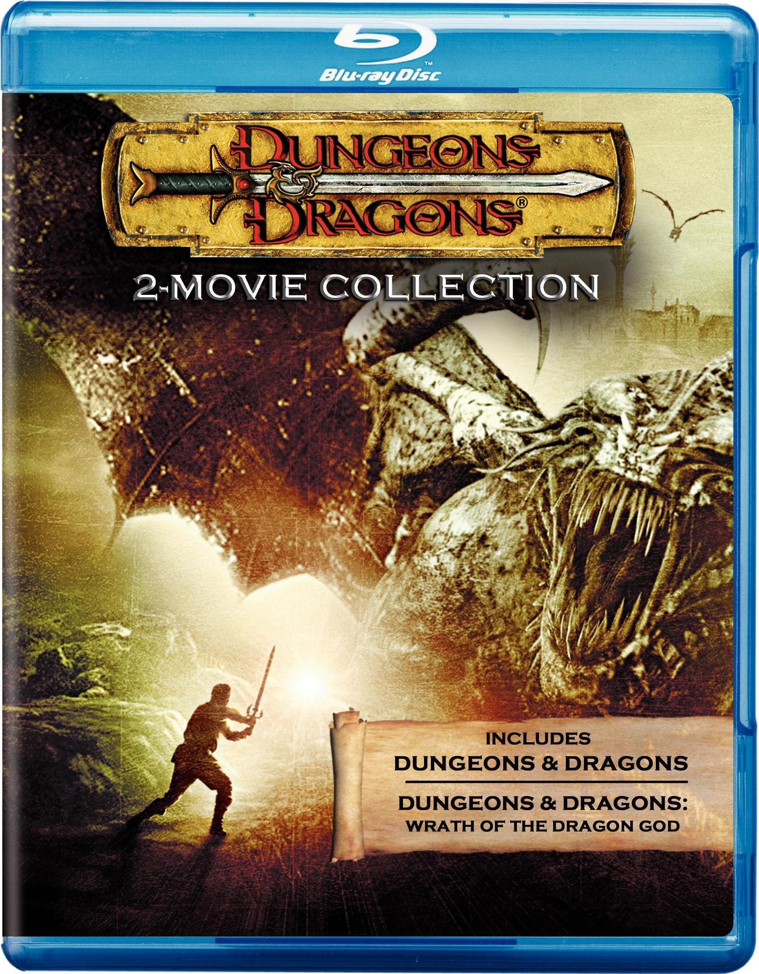 Dungeons & Dragons/Dungeons & Dragons: Wrath of the Dragon God (Blu-ray Disc)