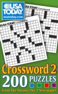 USA Today Crossword 2: 200 Puzzles from the Nation's No. 1 Newspaper (Paperback)