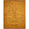 Safavieh Handmade Antiquities Kasadan Olive Green Wool Rug (12' x 15')