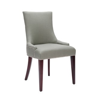 Safavieh Becca Grey Linen Dining Chair