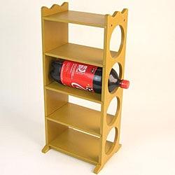 Wooden Soda Rack