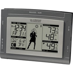 La Crosse Technology  WS-9711U-IT Weather Girl Weather Forecast Station