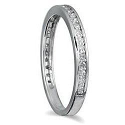 10k White Gold 1/5ct TDW Diamond Ring (H-I, I1-I2)