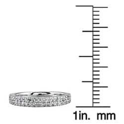 14k White Gold 2/5ct TDW Diamond Ring (H-I, I1-I2)
