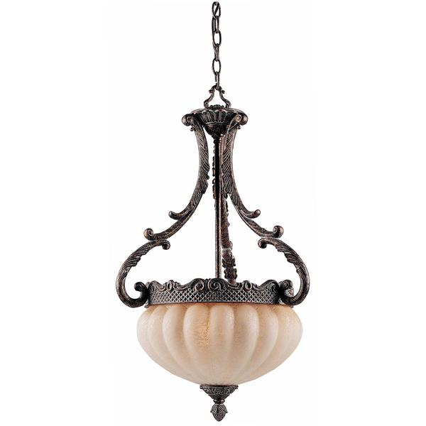 Sultan Bronze Oro 3-light Pendant