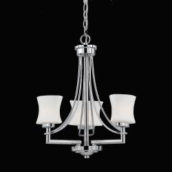 Astro 3-light Chrome Mini-Chandelier