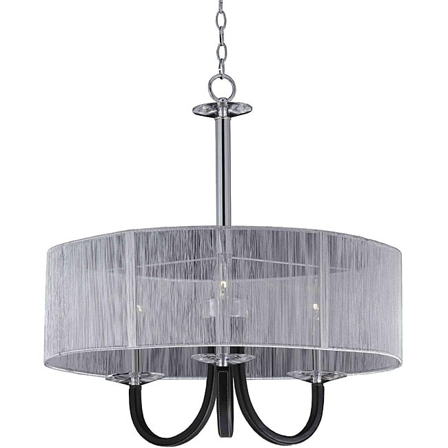 Oxford 3-light Semi-Flush Mount Convertible Pendant
