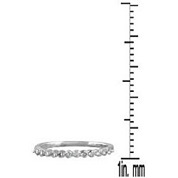 Marquee Jewels 10k Gold 1/4ct TDW Diamond Ring (I-J, I1-I2)