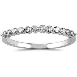 10k Gold 1/4ct TDW Diamond Ring (I-J, I1-I2)