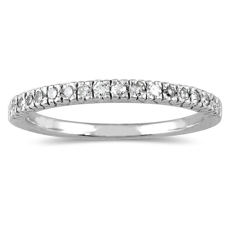 Marquee Jewels 10k White Gold 1/6ct TDW Diamond Ring (I-J, I1-I2)