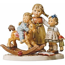 Hummel Learning to Share Porcelain Figurine