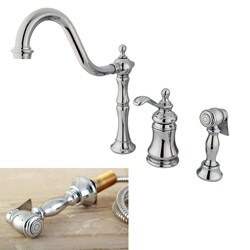Templeton Chrome Single-handle Kitchen Faucet