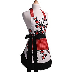 Cherry Blossom Women's Original Flirty Apron