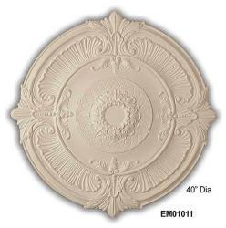 Fleur de Lis 40-inch Medallion
