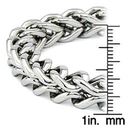 Stainless Steel Double Wheat Link Bracelet