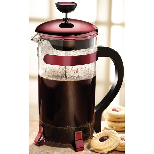 Primula Red 8-cup Classic Coffee Press