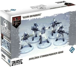 Dust Tactics: Recon Grenadiers (Novelty book)