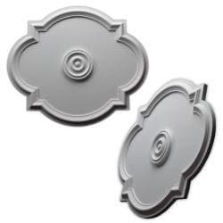 Elliptical 20.5x24-inch Ceiling Medallion