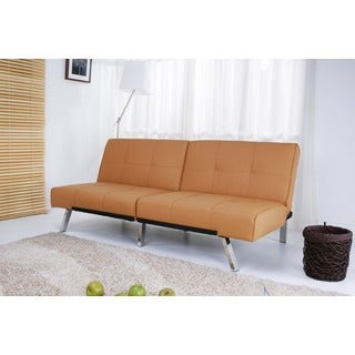 Jacksonville Camel Foldable Futon Sleeper Sofa Bed