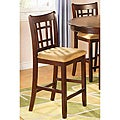 Chardonnay Splendor Counter Stools (Set of 2)