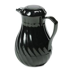 Hormel Poly Lined 64-oz Black Carafe