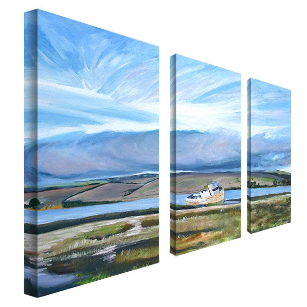 Colleen Proppe 'Inverness Sky' 3-penel Art Set