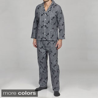 Leisureland  Men's Golf  Flannel Pajamas