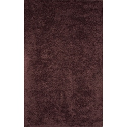 Handmade Brown Wool Rug (5' x 8')