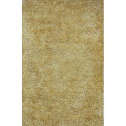Handmade Yellow Shag Wool Rug (8' x 10')