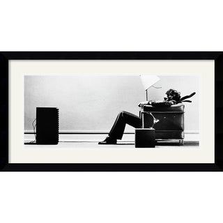 Steve Steigman 'Blown Away' Framed Art Print