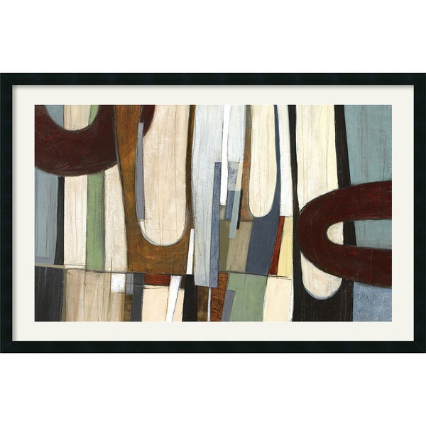 Shadow Field 1' Framed Art Print